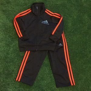 Adidas boys track suit, size 2T